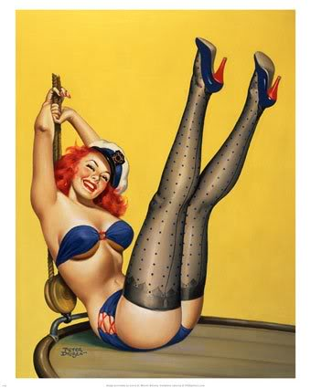 Navy pin up