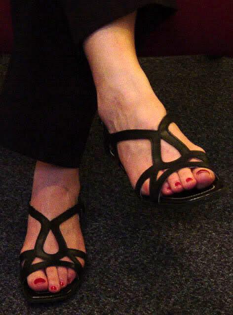 Louise's sexy feet